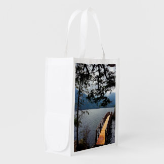 Devils Punch Bowl Olympic National Park Grocery Bags
