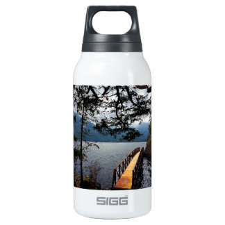 Devils Punch Bowl Olympic National Park Insulated Water Bottle
