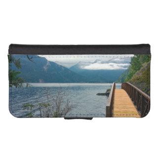 Devils Punch Bowl Olympic National Park iPhone SE/5/5s Wallet Case