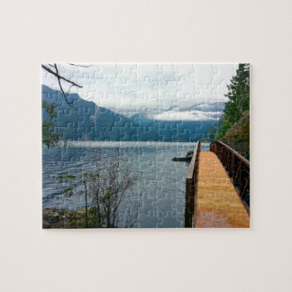 Devils Punch Bowl Olympic National Park Jigsaw Puzzle