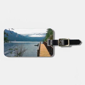 Devils Punch Bowl Olympic National Park Luggage Tag
