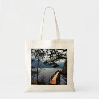 Devils Punch Bowl Olympic National Park Tote Bag