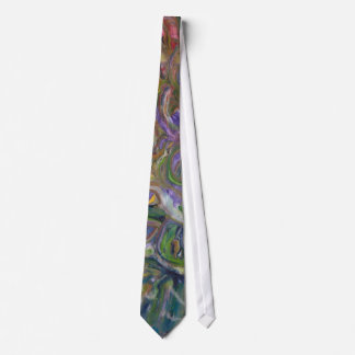 Devil's Punch Bowl - Water & Earth Toned Tie
