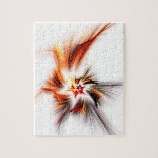 Devil's Star - Fractal Art Puzzle