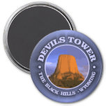 Devils Tower 3 Refrigerator Magnets