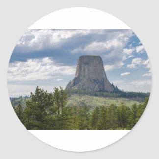 Devil's Tower Classic Round Sticker