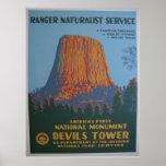 Devil's Tower Fine Print