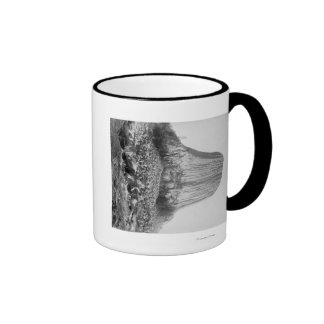 Devil's Tower from the West with Fallen Ringer Coffee Mug
