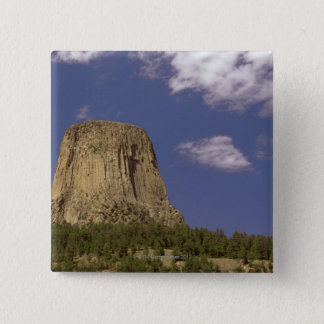 Devils Tower in Wyoming Button