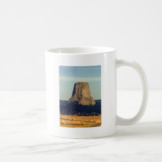 Devils Tower  in Wyoming Classic White Coffee Mug
