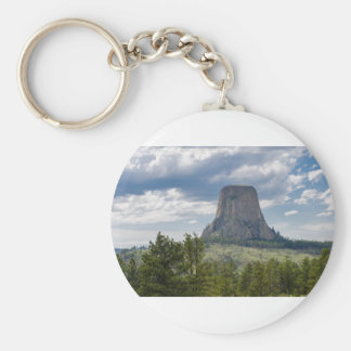 Devil's Tower Keychain