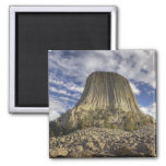 Devils Tower National Monument 2 2 Inch Square Magnet