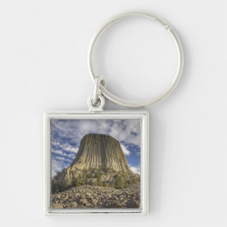 Devils Tower National Monument 2 Keychain
