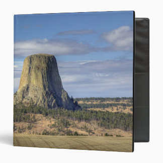 Devils Tower National Monument 3 Vinyl Binder