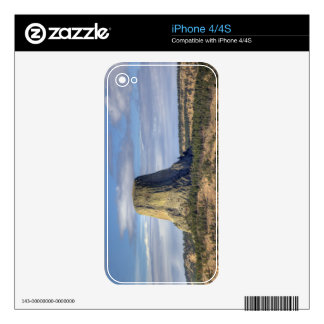 Devils Tower National Monument 3 Decals For iPhone 4S