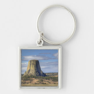 Devils Tower National Monument 3 Keychain