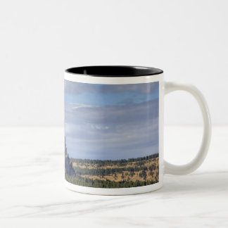 Devils Tower National Monument 3 Two-Tone Coffee Mug
