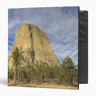 Devils Tower National Monument 4 Vinyl Binder