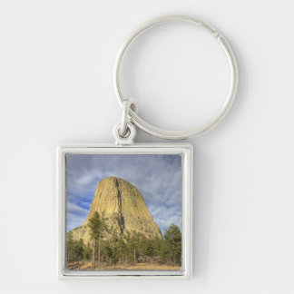 Devils Tower National Monument 4 Keychain
