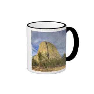 Devils Tower National Monument 4 Ringer Coffee Mug