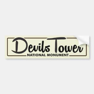Devils Tower National Monument Bumper Sticker
