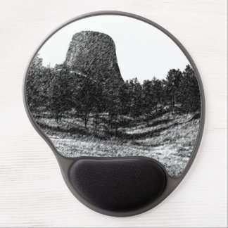 Devils Tower National Monument Gel Mouse Pad