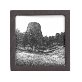 Devils Tower National Monument Gift Box