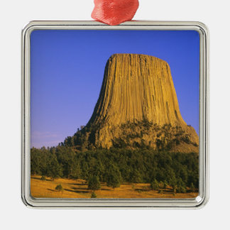Devils Tower National Monument in Wyoming Metal Ornament