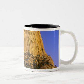 Devils Tower National Monument in Wyoming Two-Tone Coffee Mug