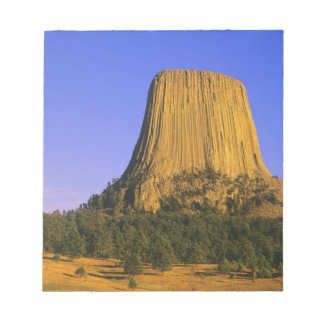 Devils Tower National Monument in Wyoming Note Pad