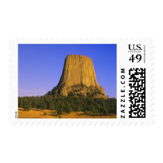 Devils Tower National Monument in Wyoming Postage