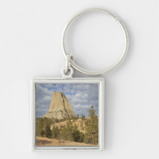 Devils Tower National Monument Keychain