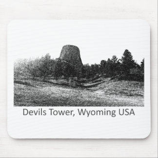 Devils Tower National Monument Mouse Pad