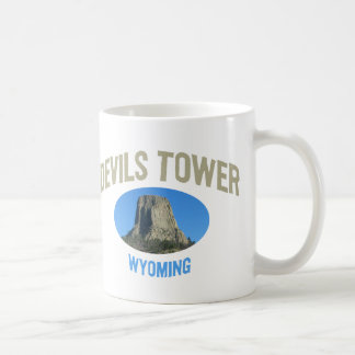 Devils Tower National Monument Classic White Coffee Mug