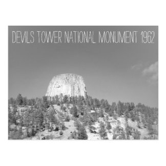 Devils Tower National Monument Postcard