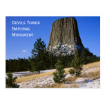 Devils Tower National Monument Postcard Post Cards