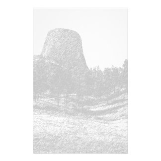 Devils Tower National Monument Stationery