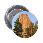 Devils Tower National Monument, Wyoming 2 Inch Round Button