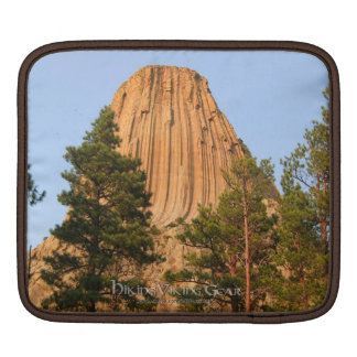 Devils Tower National Monument Wyoming Sleeves For iPads