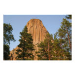 Devils Tower National Monument, Wyoming Poster