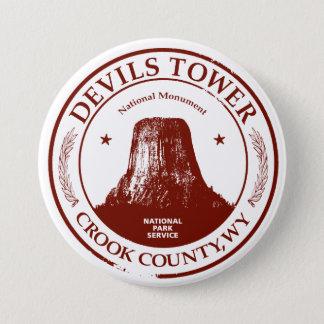 Devils Tower Pinback Button