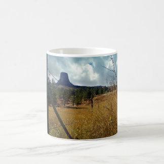 Devils Tower, ponderosa pine Coffee Mug