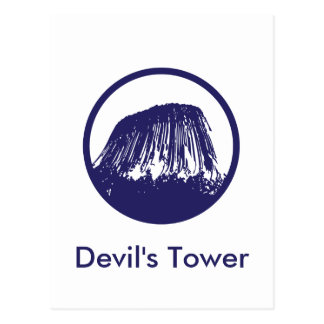 Devil's Tower Post Card