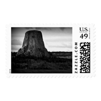 Devil's Tower Postage