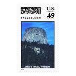 Devil's Tower Postage Stamp