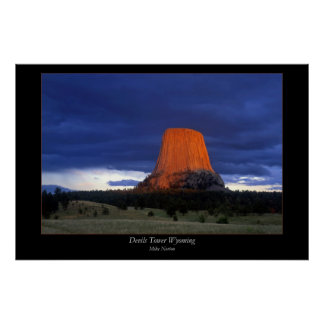 Devils Tower Poster