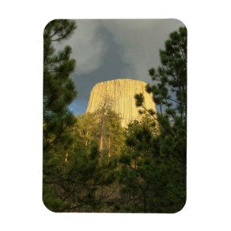 Devils Tower Rectangular Photo Magnet