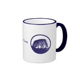 Devil's Tower Ringer Coffee Mug