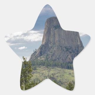 Devil's Tower Star Sticker