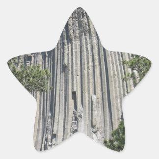 Devils Tower Star Sticker